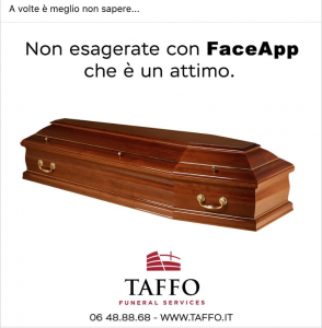 FaceApp Caso Taffo Real Time Marketing